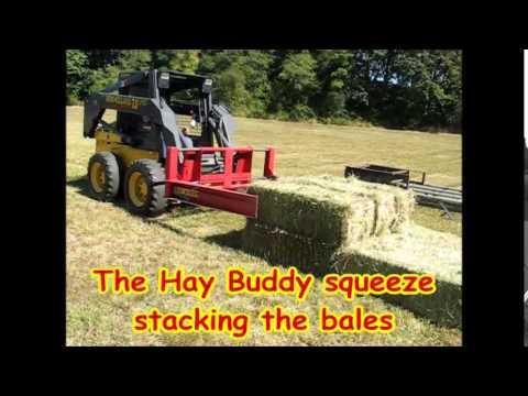 Hay Buddy Squeeze & Buncher