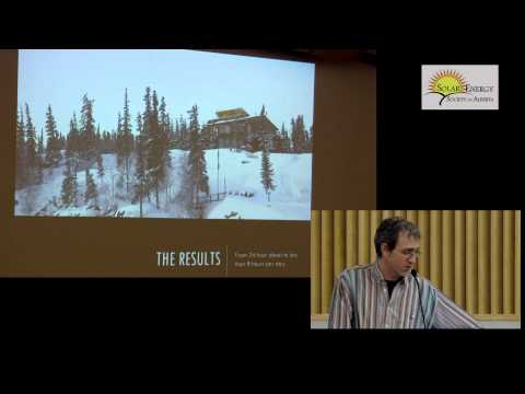Solar Projects In Canada's North - Eric Smiley/Gordon Howell - Part 1 of 2