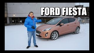 2018 Ford Fiesta 1.0 EcoBoost (ENG) - Test Drive and Review
