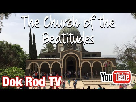 THE CHURCH OF THE BEATITUDES. #dokrodvlog #thebeatitudes #sermononthemount #israel #blessed #pure