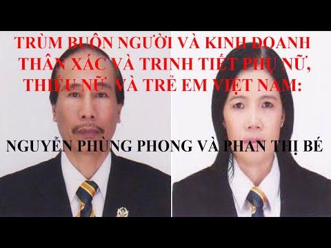 Một Gia Đình Chuyên Kinh Doanh Trinh Tiết Và Thân Xác Phụ Nữ và Trẻ Em Việt Nam Tại Cambodia