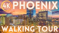 Phoenix Arizona Walking Tour 4K HD