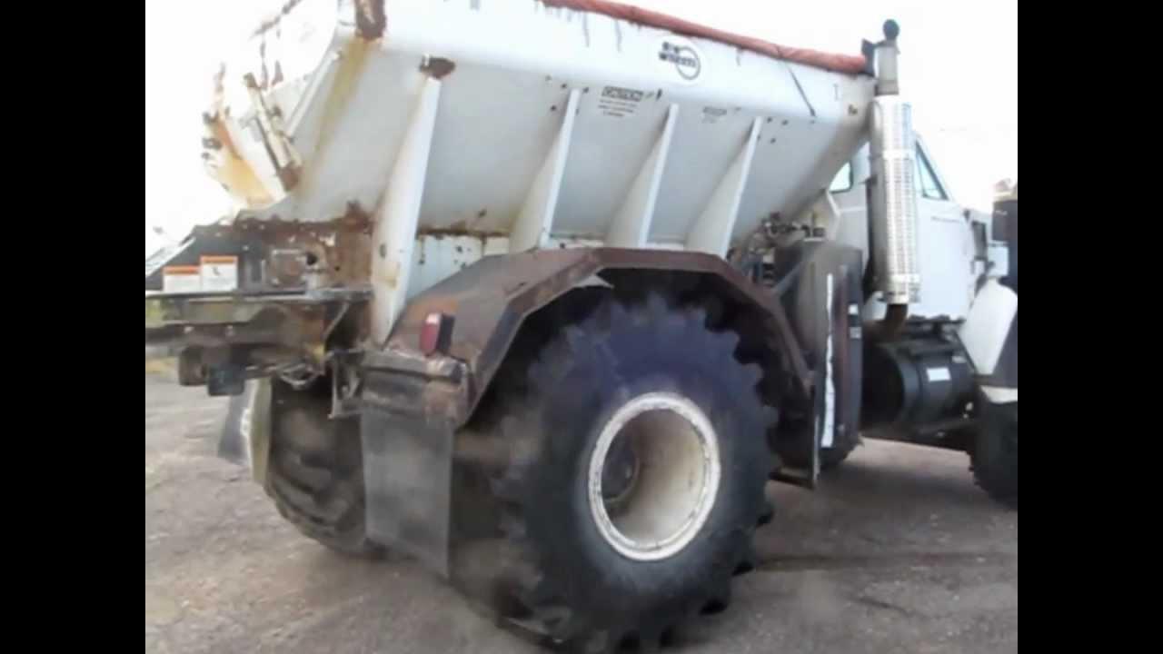 1984 Gmc Big Wheels Fertilizer Spreader Truck For Sale