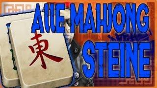 Alle Mahjong Steine | Fundorte Für Extra Ausrüstungs Gegenstände | Shaolin Shuffle