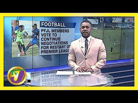 Negotiations to Restart the Premier League | TVJ Sports