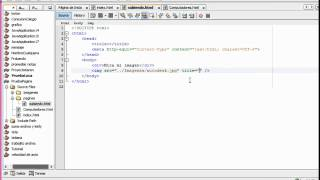 2. Paginas html con Netbeans - Creación de hipervinculos Parte 2