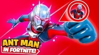 *NEW* Antman in Fortnite (SHRINKING ABILITY)
