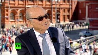 ЭКСКЛЮЗИВ: экс-президент ФИФА Йозеф Блаттер дал интервью RT