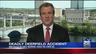 Man killed in Deerfield car accident