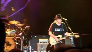 Neil young in Liverpool:Who