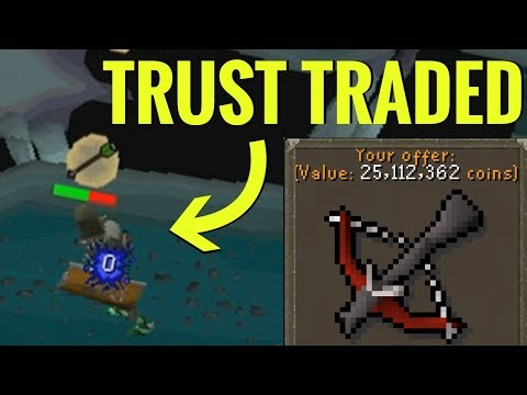 I trust traded this guy 25M, guess what happened.