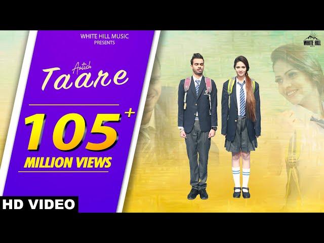 New Punjabi Songs 2017   Taare ( Full Song)   Aatish   Latest Punjabi Songs 2017   White Hill Music