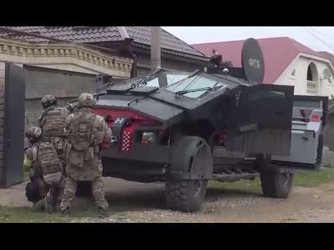 First ever video of secretive 'FSB Batmobile' & 'Tiger' assault version on combat mission