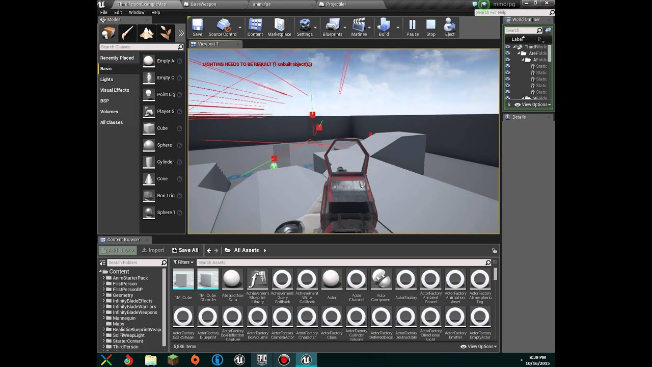 How to make a AAA FPS game in unreal engine 4 - YouTube