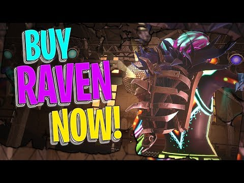 Buy Raven NOW! | Iron Cage Back Bling On 87 Outfits - Fortnite Cosmetics