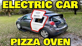 I'm putting a pizza oven in an electric car, what could go wrong?