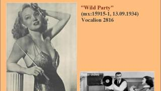 Ina Ray Hutton & Her Melodears.Wild Party