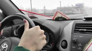 Автонакат - Очень полезный урок авто вождения..