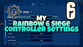 My Rainbow 6 Siege Controller Settings - dimpty PS4(Read Description)