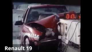 90´ compacts in crash test - Auto Motor and Sport / TÜV