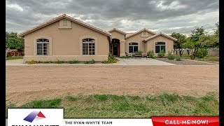 1+ Acre Horse Property in Queen Creek AZ - 25308 S 177th Pl