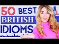 Gambar cover 50 of the Best of British Idioms! Improve your English Vocabulary!