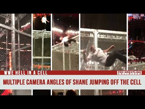 Multiple Camera Angles Of Shane McMahon Jumping Off The Cell w/ Live Crowd Reaction (VIDEO)