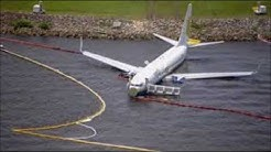 Jacksonville Plane Crash - Miami Air International Skids Off Runway - Air Traffic Control Radio
