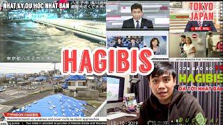 🔥Hot🔥 HAGIBIS - Siêu Bão Chính Thức Đổ Bộ Vào Nhật Bản - Mưa Lớn Kéo Dài tại Nhiều Tỉnh