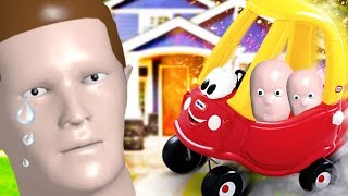 Can One Daddy Stop Two Babies From Riding Their Little Tikes and Looking For Toys & Secrets?!