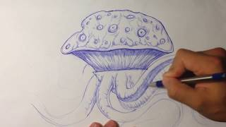 Muffin Monster - Speed Sketch - Draw Fantasy Art