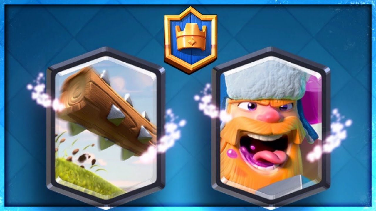 "Clash Royale - NEW ""LUMBERJACK"" & ""THE LOG"" LEGENDARIES! UPDATE SNEAK ..."