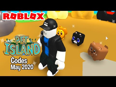 Roblox Codes For Pet Island May 2020