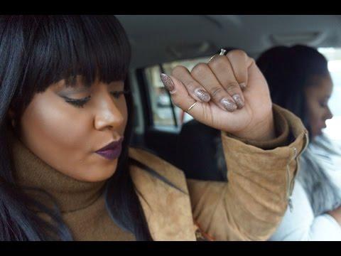 Vlog: New Years Eve Roadtrip  First 48 Headquarters PeachBowl & Twerking   MakeupMesha