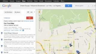 لم يجادل عن مكان لتناول الطعام مرة أخرى: إنشاء الخاصة بك التعاونية الصرخة مع خرائط جوجل