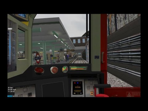 OpenBVE HD: London Underground Central Line 1992TS Cab Ride ATO Mode Ealing Broadway - Liverpool St.