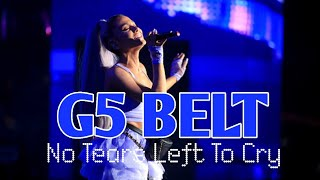Ariana Grande - First LIVE G5 Belt In 'No Tears Left To Cry'