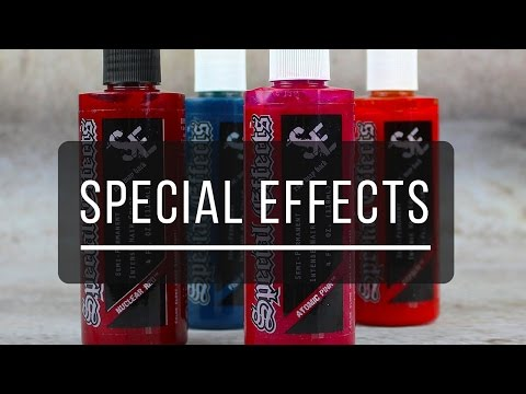 Unboxing: Special Effects Hair Color