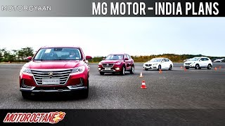 MG Motor - Coming to India - Technology ShowCase | Hindi | MotorOctane