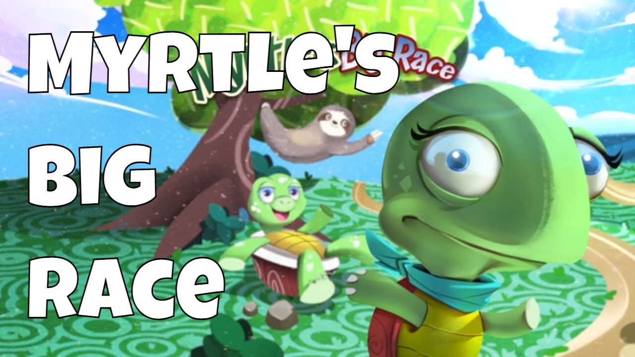 Myrtle S Big Race Animated Story For Kids About Winning And Honesty Friendly Fables Youtube
