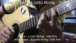 Bhuvan Bam - Teri Meri Kahani - Guitar Tutorial | Part 1 (Original Version)