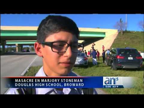 Masacre en escuela Marjory Stoneman Douglas High School, Broward