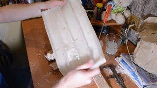 Форма из строительного силиконового герметика Проверка через пол года