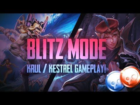 Vainglory Blitz Mode - Ep 2: GAWD THIS IS NASTY!! Krul/Kestrel |WP/CP| Gameplay [Update 2.1]