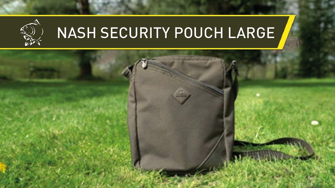 3714407801 NASH Taška na doklady Security Pouch Large - Rybárske potreby RYBA