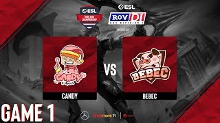 CanDy vs BEBEC [Game 1] RoV D1, Presented by Mercedes-Benz