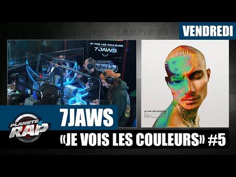 Youtube: Planète Rap – 7 Jaws«Je vois les couleurs» avec Lujipeka, Souffrance, Seezy et Fred Musa #Vendredi