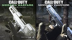 Call of Duty: Modern Warfare vs Modern Warfare: Remastered | Direct Comparison
