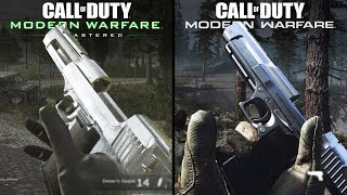 Call of Duty: Modern Warfare vs Modern Warfare: Remastered | Direct Comparison