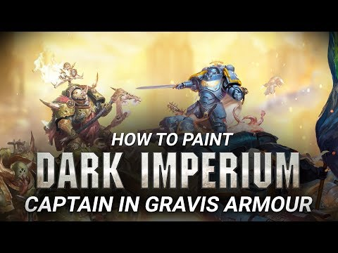 How to Paint: Captain in Gravis Armour.